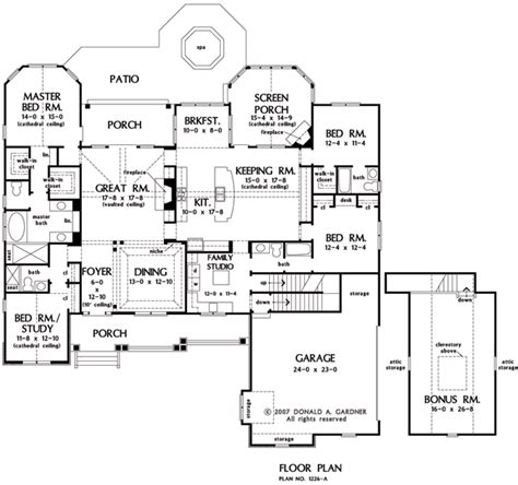 Sagecrest House Plan The Sagecrest House Plan Images See Photos Of Don Gardner House Plans 3676 1226a1 F
