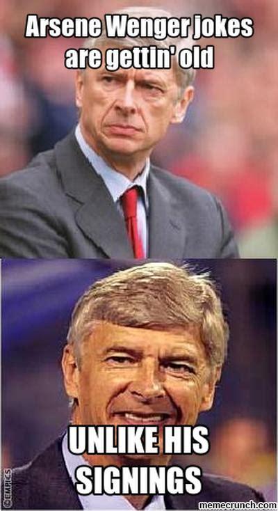 Arsene Wenger Meme - arsene wenger jokes