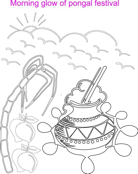 morning glow coloring printable page for kids