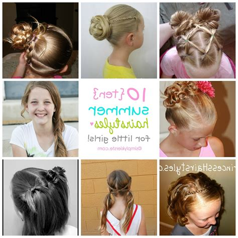 10 fun summer hairstyles for girls parenting 2018 popular updo hairstyles for little girl with short hair