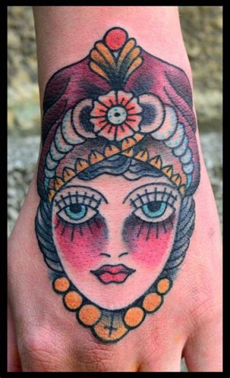 tattoo old school gypsy old school hand gypsy tattoo by black star studio