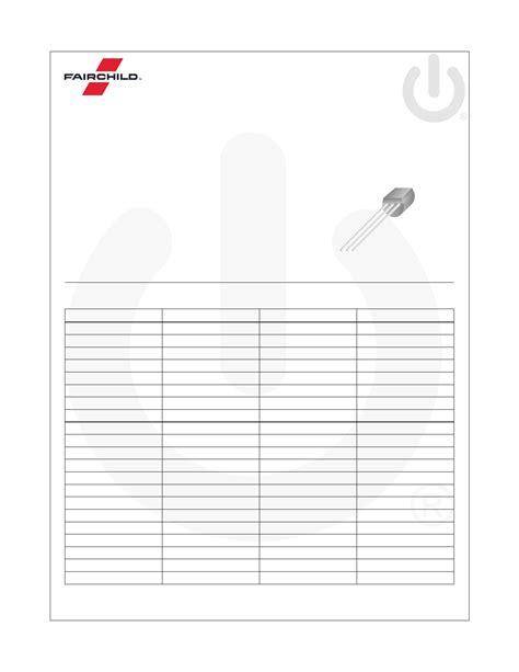 bc547 npn transistor datasheet pdf bc547 datasheet npn general purpose lifier
