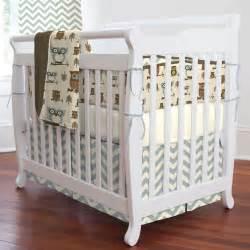Retro Crib Bedding Retro Owls Portable Crib Bedding Carousel Designs
