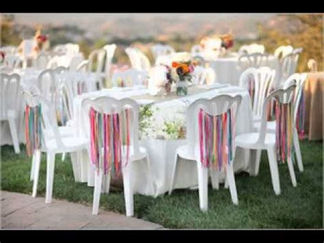 Easy Diy Ideas For Backyard Wedding Decorations Youtube Backyard Wedding Centerpiece Ideas