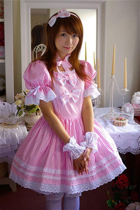 sissy petticoated husbands i like forced feminization hanako lolita 書店 flickr