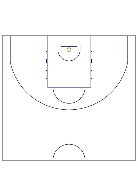 basketball half court diagram pdf periodic diagrams