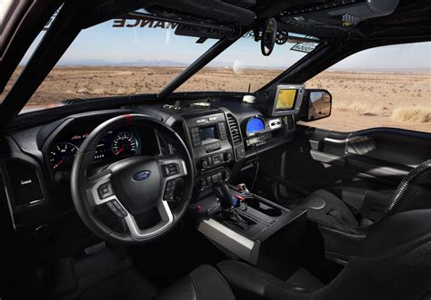 ford raptor interior best in the desert 2017 ford f 150 raptor prepares for