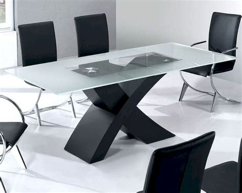 glass modern dining table glass top modern dining table moderno european design 33d192