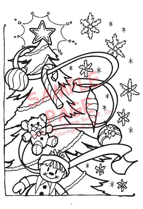 coloring books the night before christmas by clement c