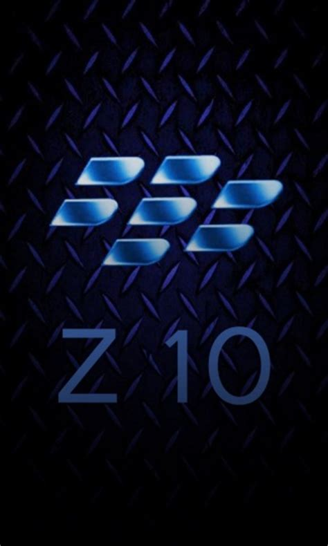 wallpaper keren blackberry bb blue diamond plate z10 crackberry com