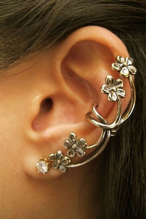 1000 ideas about ear cuffs on ear peircings