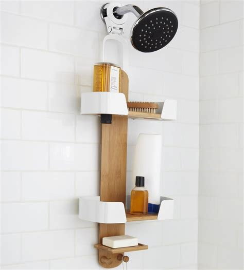 hanging bathroom caddy umbra hanging shower caddy in shower caddies