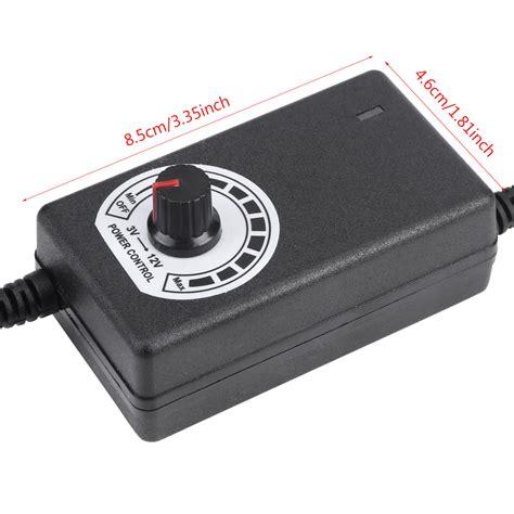 converter ac ke dc motor ac to dc adapter 3 12v 2a adjustable power supply motor