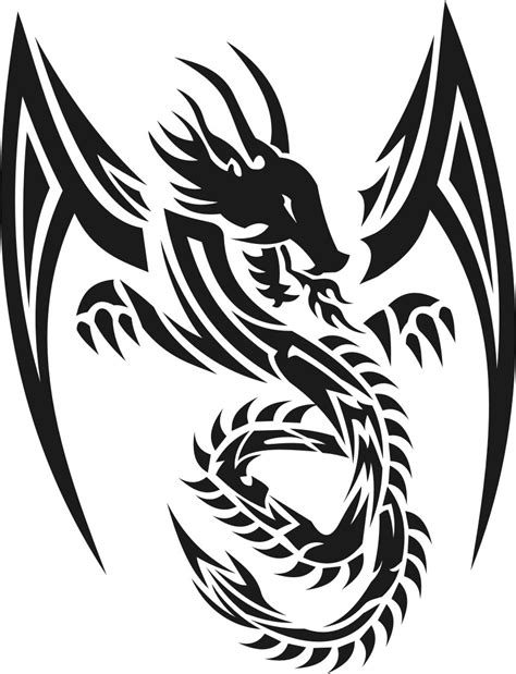 tribal tattoo dragon ideas dragons design tattoos sharpe