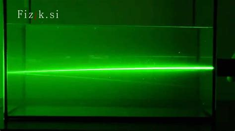 Bending Light by Bending The Light Ii Science Experiment