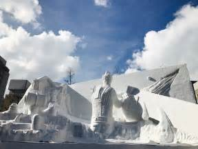 travelling sapporo snow festival photography expect amvsement