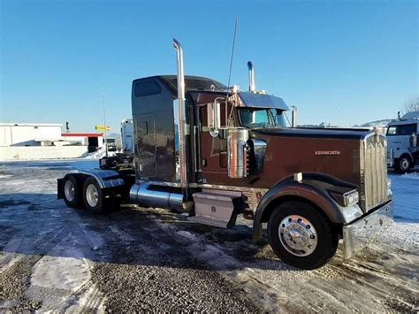 w900 kenworth trucks for sale 2007 kenworth w900 sleeper truck for sale 808 058 miles