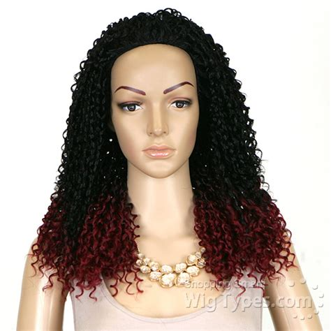 bohemian quick weave outre synthetic half wig quick weave bohemian long