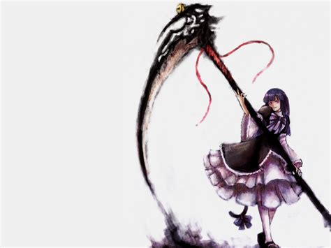 rose tattoo vindictus anime scythe wallpaper www pixshark images