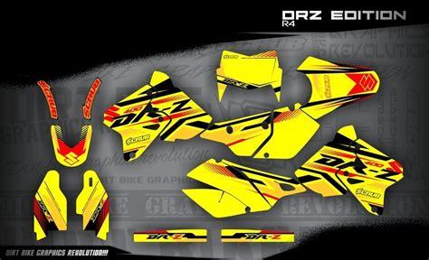 drz 400 dekor suzuki drz 400 dekor 1999 2016 drz edition r4 mx kingz