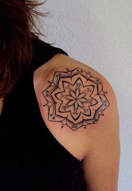 tattoo mandala lotus lotus mandala tattoo tattoos pinterest