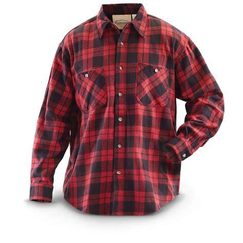 Plaid Shirt by Kilimanjaro 174 Buffalo Plaid Sleeved Flannel Shirt