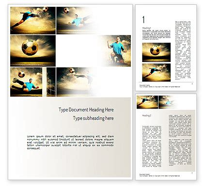 soccer collage word template 11221 poweredtemplate com