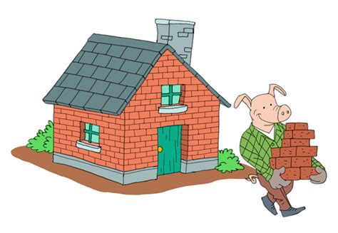 house of bricks the three little pigs and the big bad wolf