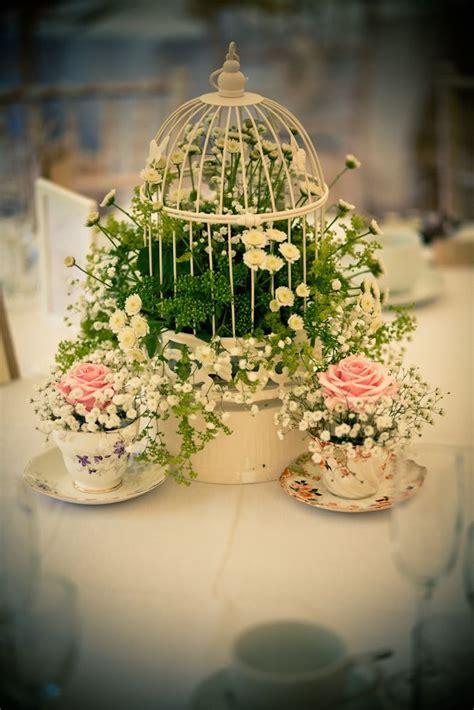 Beautiful birdcage!   birdcages   Vintage wedding flowers