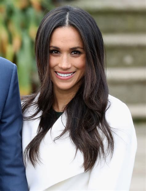 Meghan Markle Curly Hair Pictures   POPSUGAR Beauty