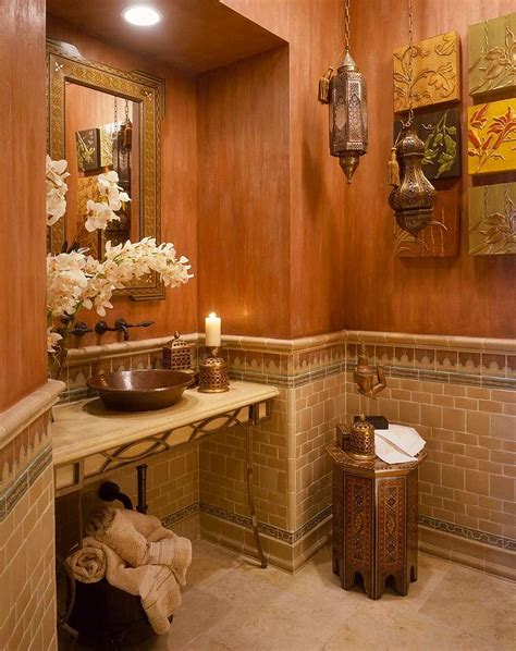 Vanity Powder Room Cheerful Spunk Enliven Your Powder Room With A Splash Of