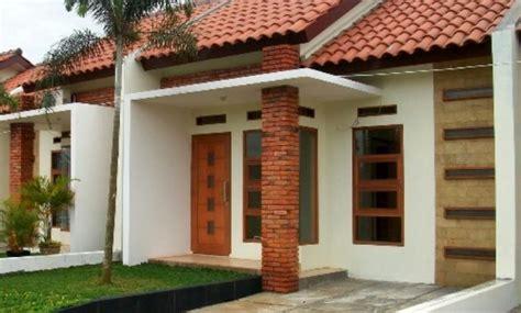 desain depan rumah dengan batu bata 20 desain rumah minimalis modern untuk keluarga
