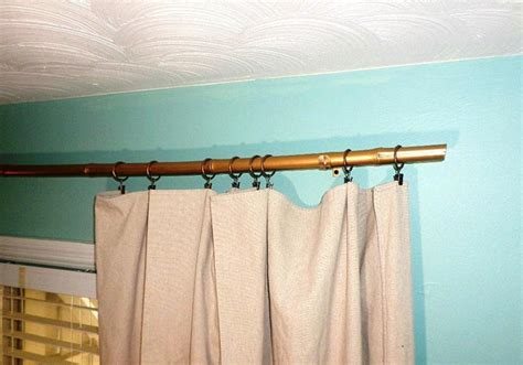 elegant curtain rods antique gold curtain rods doherty house elegant gold