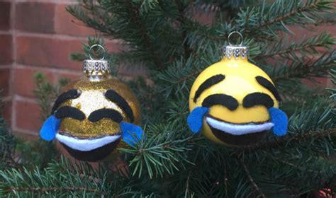 dltk christmas decoration emoji ornaments