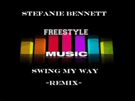 swing it my way stefanie bennett swing my way solitario latin