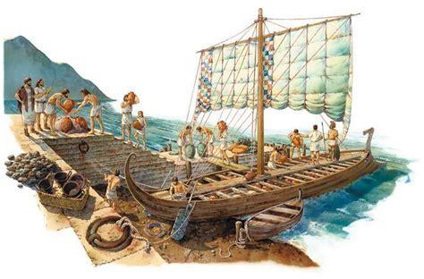 navi persiane fenici riassunto telodicoio