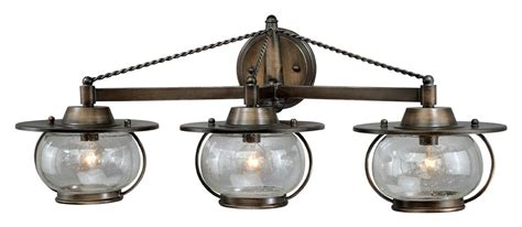 nautical bathroom light fixtures vaxcel w0018 jamestown nautical parisian bronze finish 10