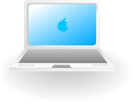 Laptop Apple Notbook apple notebook computer mac laptop vector free psd