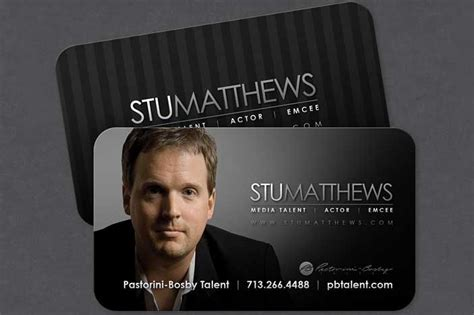 19 Best Images About Actor Business Cards Templates On Pinterest Business Cards Exles Actor Postcard Template