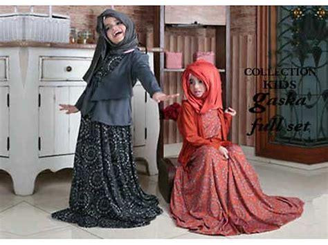 Gamis Bolero Top Dress Pashmina baju anak muslim hijabbio