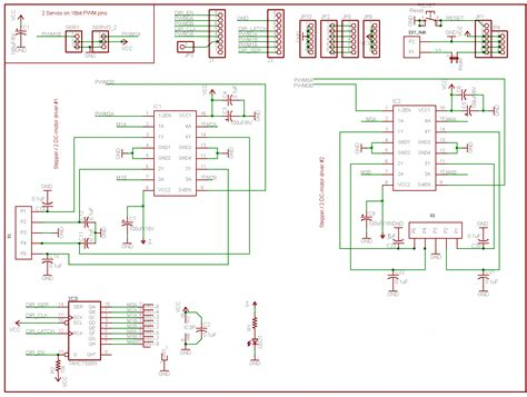 Diskon L293d Shield Motor Driver L293 Arduino 293 motor driver shield for arduino l293d chipset
