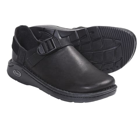 Chaco Ped Shed by Chaco Pedshed Gunnison Clogs Leather For In Black