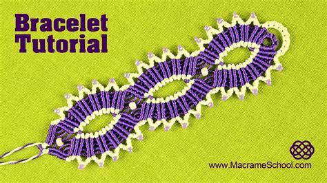 Macrame School - macram 233 sun bracelet tutorial by macrame school