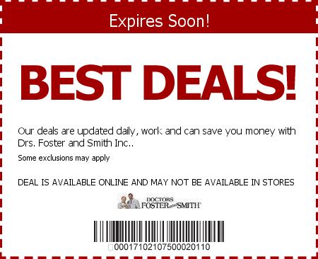 foster and smith drs foster and smith coupon codes save 7 w 2015 coupons coupons