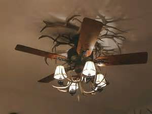 Antler Ceiling Fan Another Antler Ceiling Fan Cabin Decor