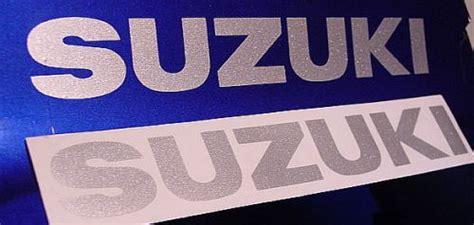 Suzuki Samurai Stickers Silver Suzuki Decal Sticker Katana Gs 500 Samurai Hayabusa