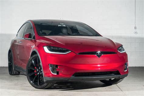 Tesla Buyback 5yjxcbe43gfs00153 2016 Tesla Model X Awd 4dr P90d Ltd