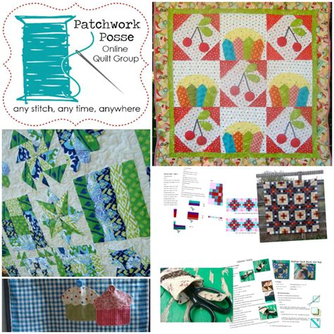 Patchwork Posse - sew alongs clubs you should totally join