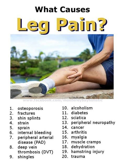 leg injuries image gallery leg ache causes