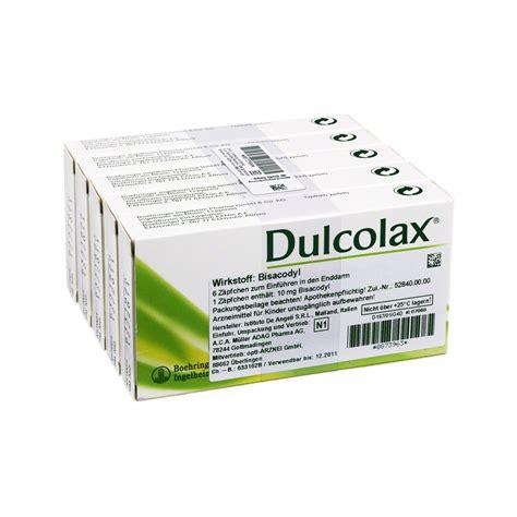 Dulcolax 10 Suppos dulcolax suppositorien 30 sotalol 80 nebenwirkungen
